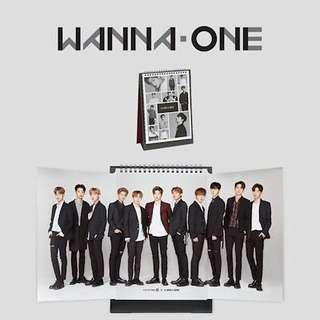 Wanna One Calendar 2018 x Lotteria