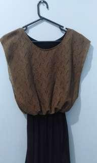 Opaque Knit Dress