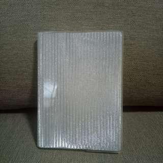 Cute Silver Notebook