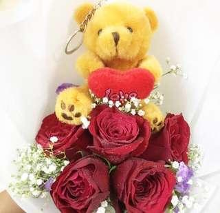 Huamama Rose Bear