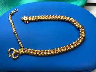New Year Hot Item for sale - (999 Gold bracelet, length - 21cm) ❤️❤️