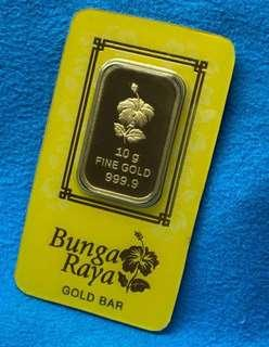 New Year Hot Hot Item - (10-g 999 Gold) 🇸🇬🇸🇬🇸🇬🇸🇬