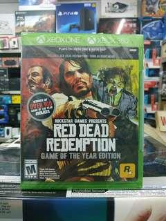 🆕 Xbox One Red Dead Redemption Game of The Year Edition