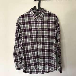 Flannel Shirt Belamy Local Brand Size M Murah