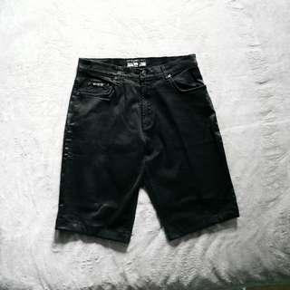 MCM Black Regular Shorts