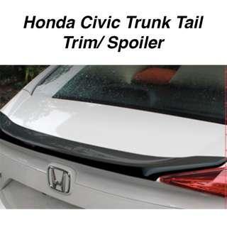 Honda Civic Trunk Tail Trim/ Spoiler