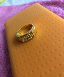 New Year Special Deal - (916 Gold Ring, Design w abacus) 🇸🇬🇸🇬🇸🇬