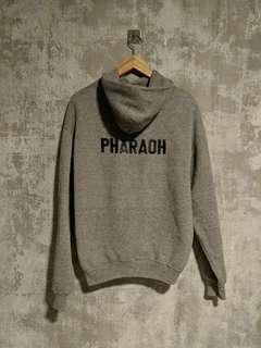 Vintage Army Pharaoh Gray Hoodie Pullover