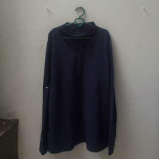 blouse navy