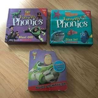 25 pcs Fun with Phonics Story Books