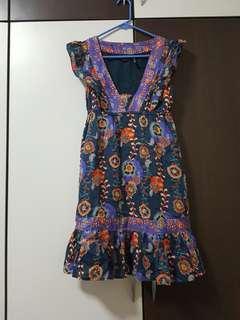 Mango Floral design dress