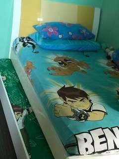 Kids Super single pull-out bed (mattress excluded)