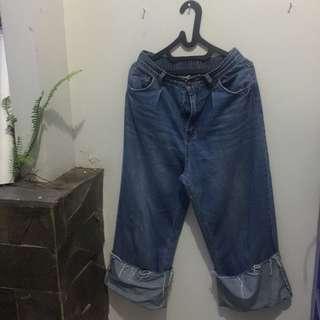 jeans cullote lipat