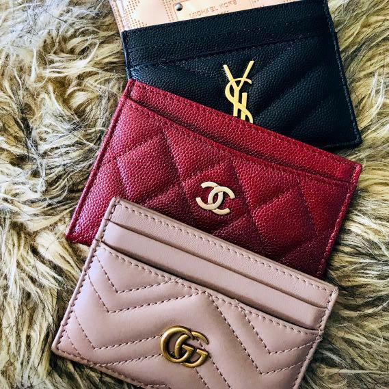 on sale 2f104 b0e66 1 Day PO! Authentic BN Gucci Marmont Card Holder Dusty Pink