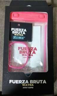 夜光手機防水袋+夜光矽膠手環