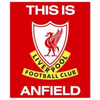 Liverpool FC Windshield Sticker
