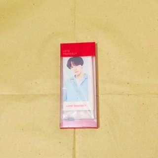 BTS official MD: Love yourself concert tour mini flag (Jhope)