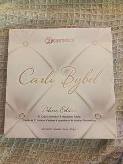 BRAND NEW Carli Bybel Delux Edition BH Cosmetics 21 Colour Eyeshadow & Highlight Palette