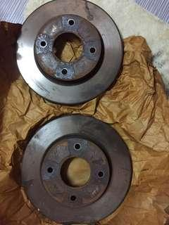 Disc brake nissan latio / livina 1.6.. 0123280538