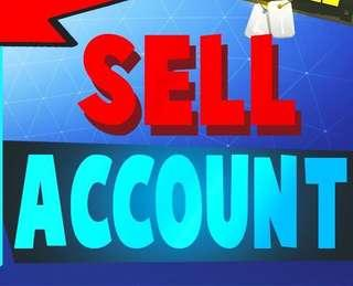 SELL MY ACCOUNT