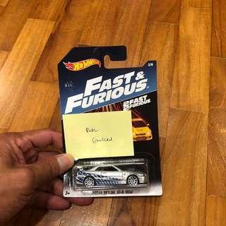Hot Wheels Fast & Furious Nissan Skyline