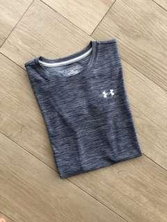Underarmour Drifit Grey Top
