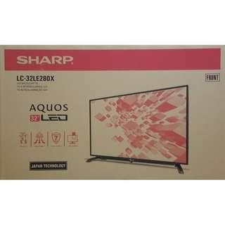 "BRAND NEW Sharp 32"" Digital Led Tv LC-32LE280X"