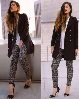 H&M PRINTED TROUSERS