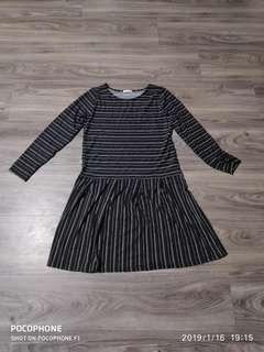 *PRICE REVISED* BNWOT Striped Dress (Cotton Lycra)