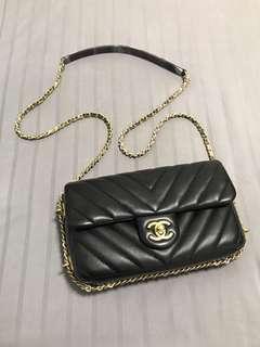 Let go cheap! Chanel seasonal mini rect flap bag b7fea18361da7