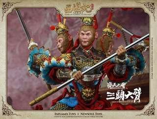 *MISB* Inflames Toys 1/6 Journey to the West Monkey King Three Heads Six Arms IFT-016