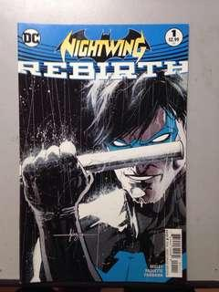 Nightwing #1 / DC Comics pre rebirth titles