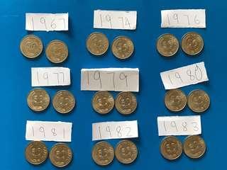 50€ UNC coins