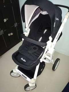 Preloved Stroller Cocollate Quintas Black