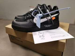 Nike Off-white Air Force 1 AF1 Bae size US 4.5 UK 4 airforce1