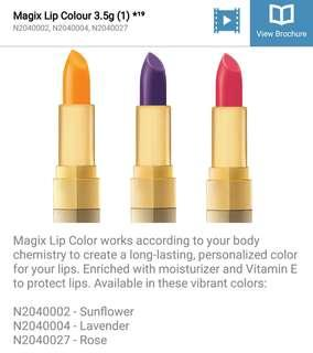 Nutrimetics Magix Lip Color 3.5g