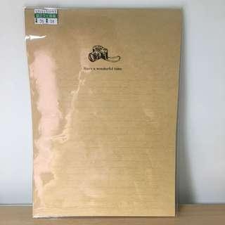 🚚 牛皮信紙 長寬23x17cm