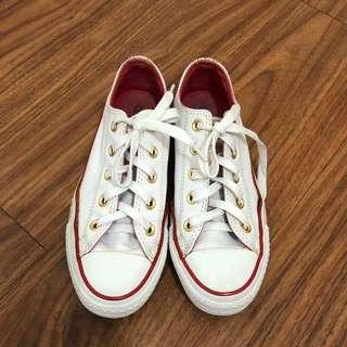 Converse White (leather)