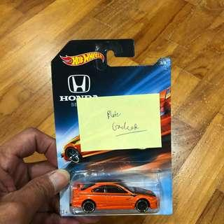 Hotwheels Honda Civic SI