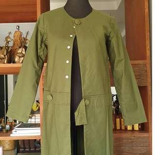 Ilaya Dark Green Jacket