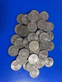50€ lion fish coin