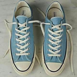 Sepatu Converse Ct 70s Ox Shoreline Blue Original Bnib