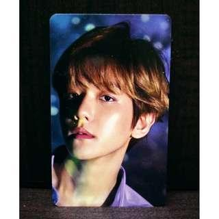 [WTS] BAEKHYUN 11STREET FREEBIES PHOTOCARD 2019