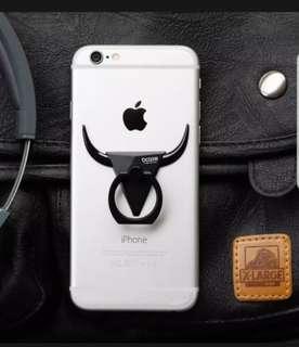 Bcase bull horn caw buffalo phong ring