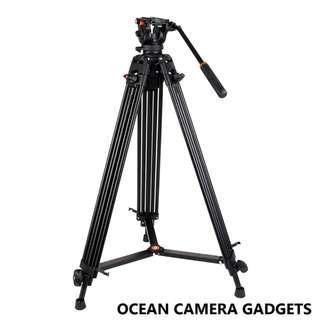 Professional Video Tripod COMAN KX3636 Heavy Duty Fluid Head Benro KH26 Video Fluid Head Kit