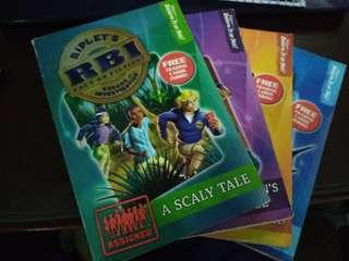 Ripley's Bureau of Investigation Books 1-4