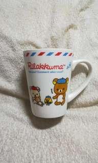 Authentic Rilakkuma Ceramic Mug with Handle - White