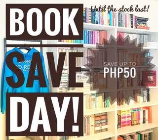 BOOK SAVE DAY! VISIT MY SHOP NOW