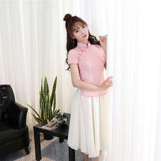 Women 2in1 cheong sam suits