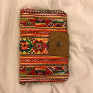 Aztec Passport Holder (genuine leather)
